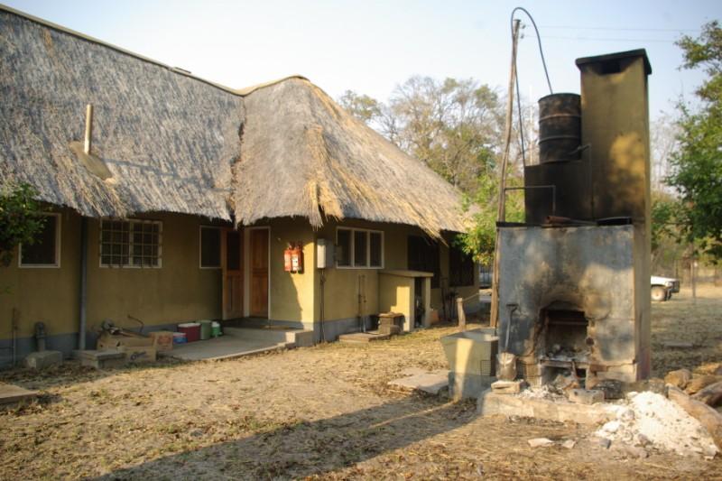 Parc national de hwange zimbabwe for Dessus cheminee exterieure